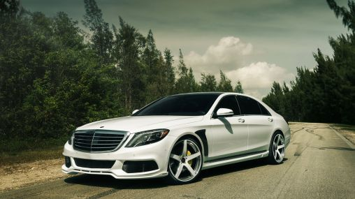 Brabus Mercedes-Benz S550 W222 On Vellano Wheels 1920×1080 HD