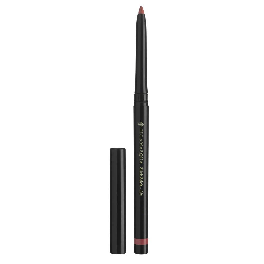 "Illamasqua Lip Slick Stick in Fervor (a bright peachy pink shade) - Too waxy and ""powdery"""