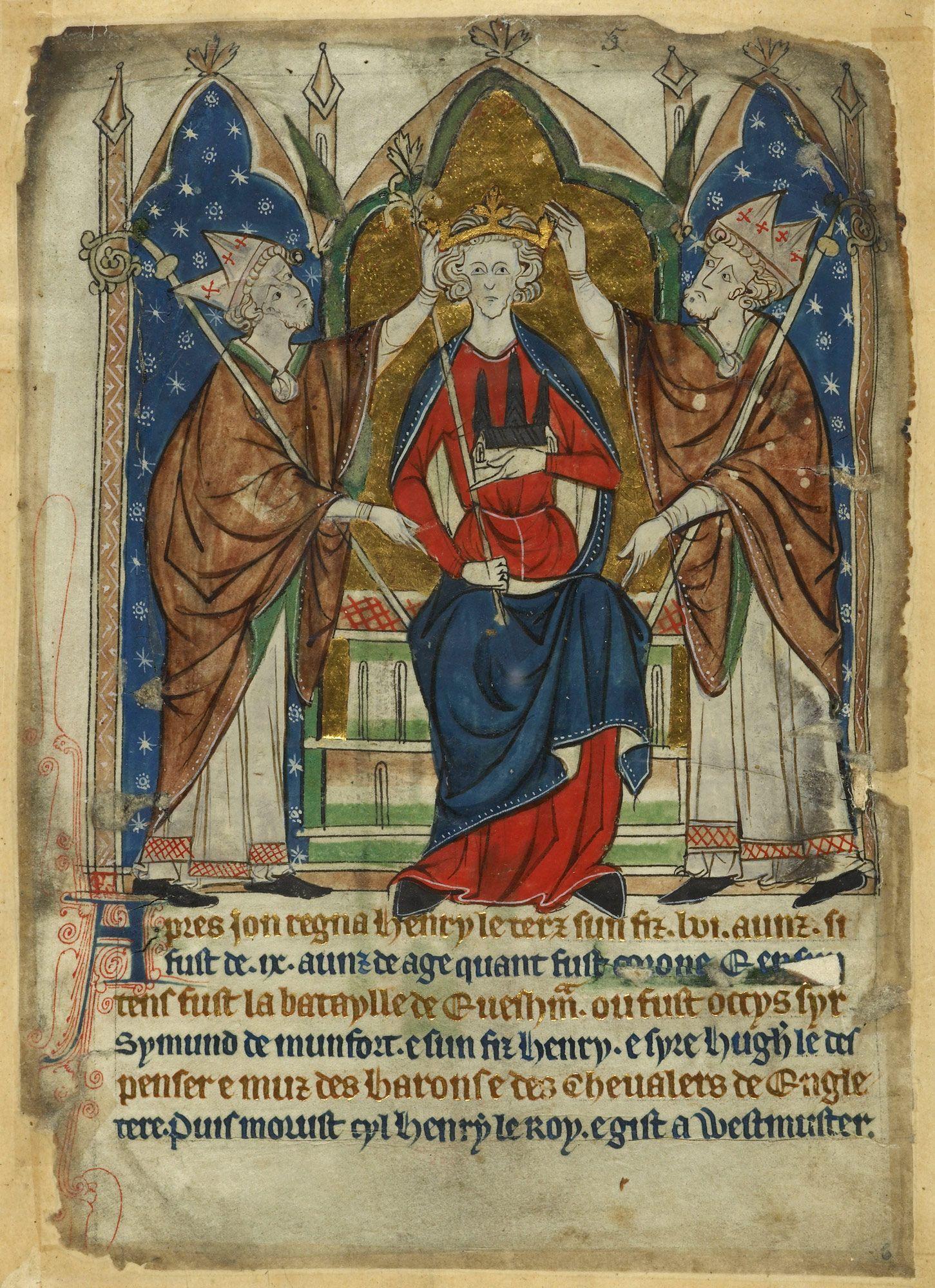 The Coronation of Henry III