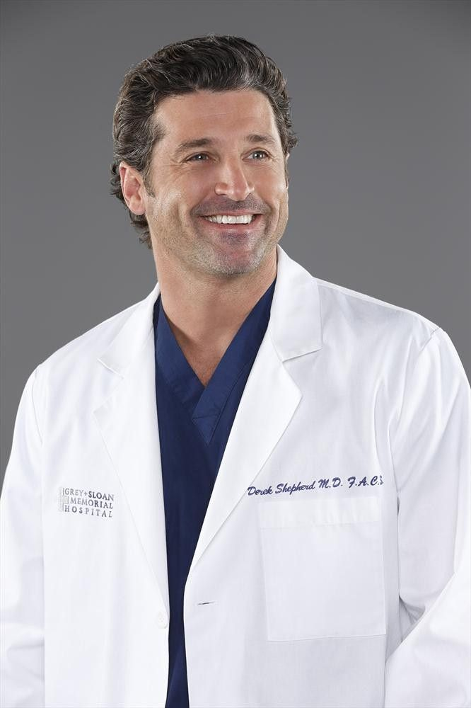 Patrick Dempsey as Derek Shepherd - Season 10 cast photos ...