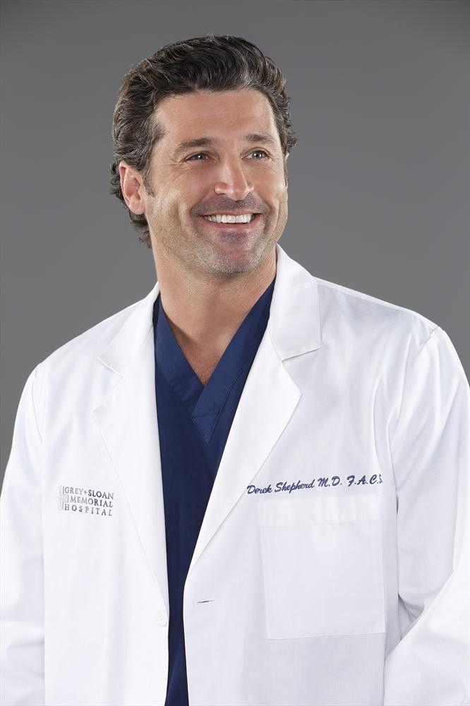 Patrick Dempsey as Derek Shepherd - Season 10 cast photos | Grey\'s ...