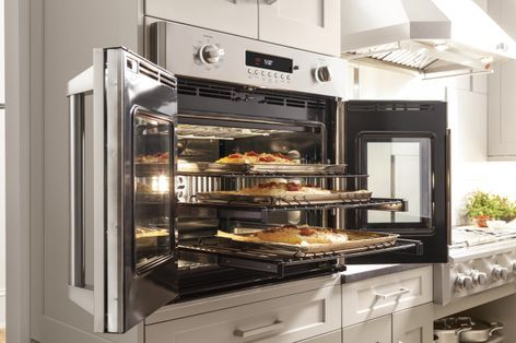 GE Monogram® French door wall oven (model ZET1FHSS) For the Home