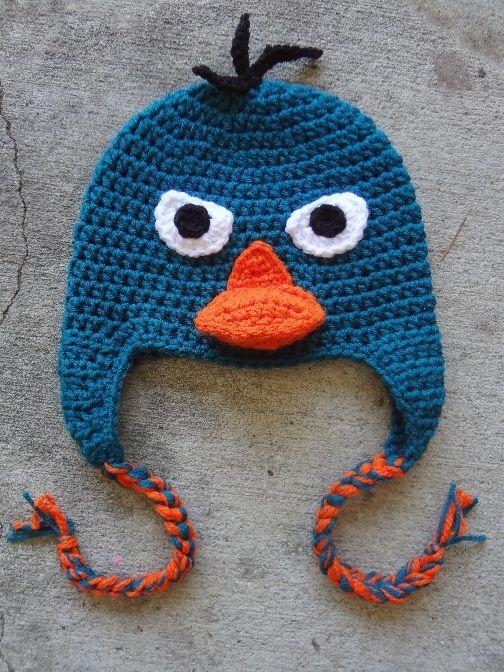 Perry The Platypus Pinterest Kindermütze Bkh Und Häkeln