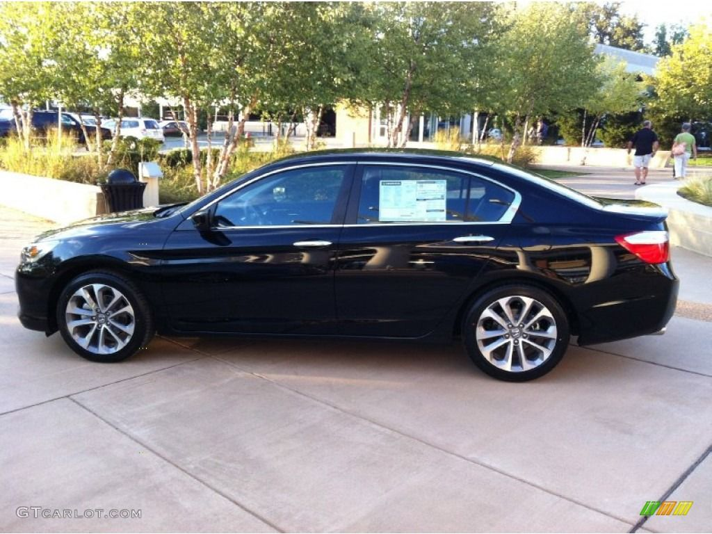 Black Honda Accord Sport  Black Honda  Pinterest  Black honda