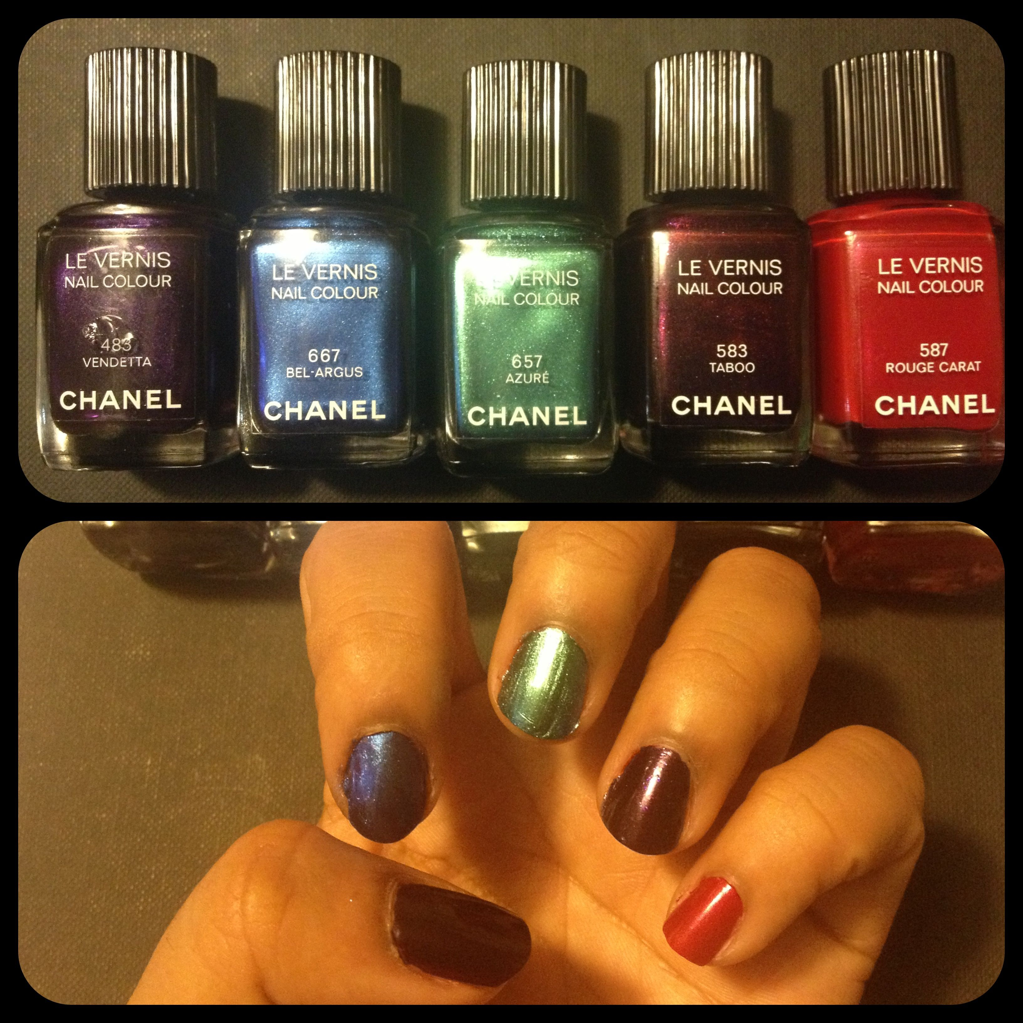 My Nailpolishes Chanel Collection 2013 Pont des Arts ::: Pix By DiLiYa :::