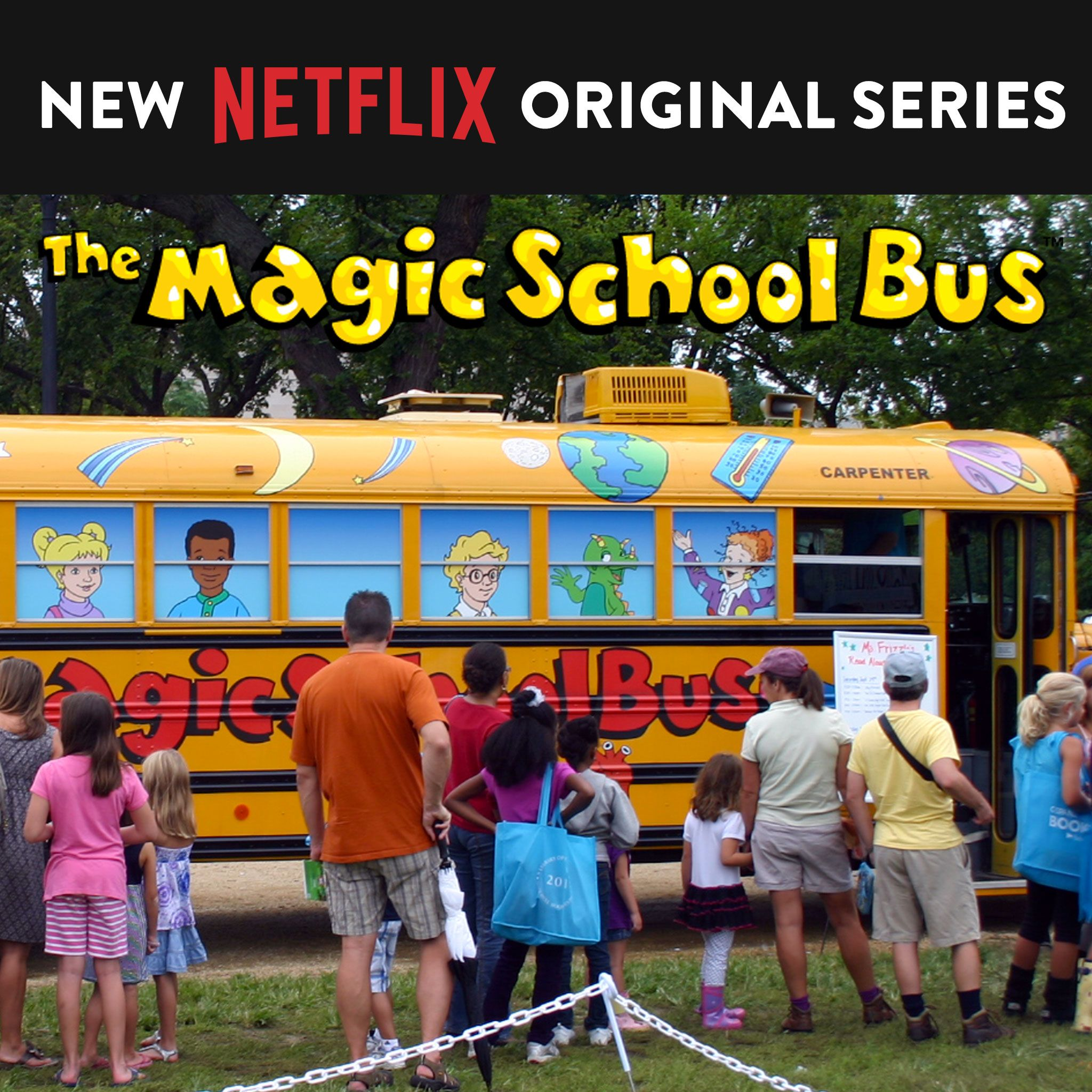 New The Magic School Bus Coming To Netflix