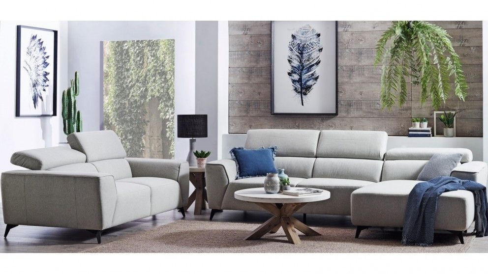 Buy Lincoln Fabric Lounge Suite Harvey Norman Au Lounge Suites