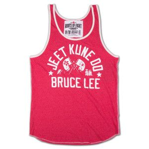 facfe408ec26d The Bruce Lee Jeet Kune Do TankTop pays homage to the hybrid of martial  arts and the philosophy of life founded by the legendary Bruce Lee.