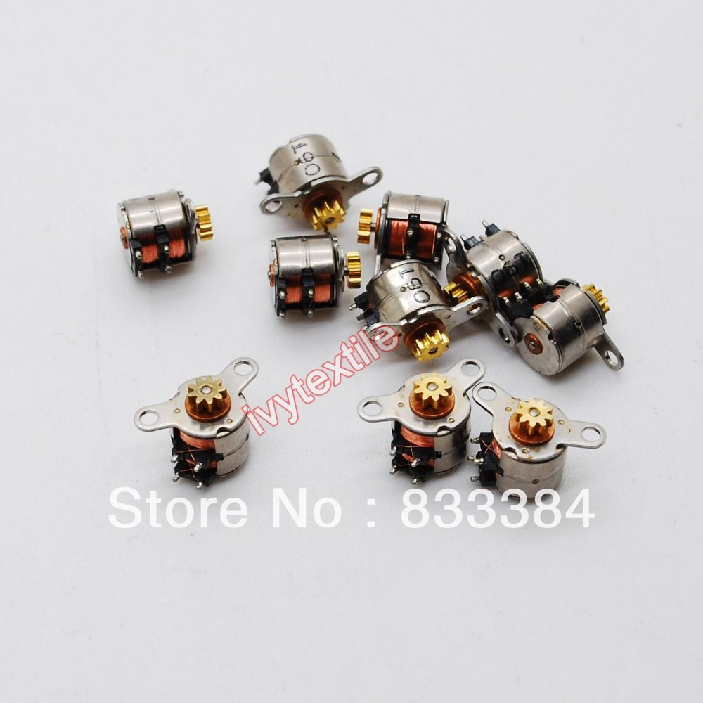 NEW 20 PCS Japan  Nidec Mini stepper motor micro stepper motor 2 phase 4 wire D6mm  stepping motor for camera-in Stepper Motor from Industry...