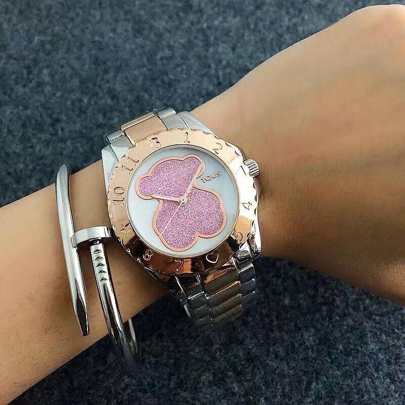 687a7c062eea tous watch women bracelet wristwatch relojes mujer 2017