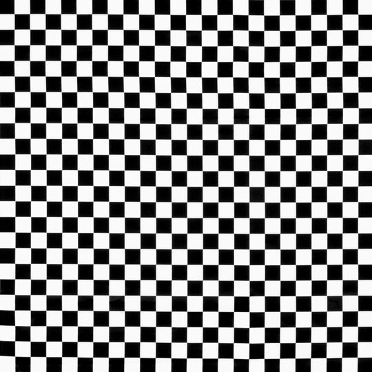 White/black Checker Matte Satin By Michaels® 60 in