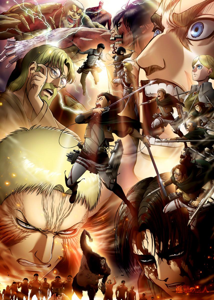 Anime Attack On Titan Text Metal Poster Print Team Awesome Displate Attack On Titan Anime Attack On Titan Season Attack On Titan Art