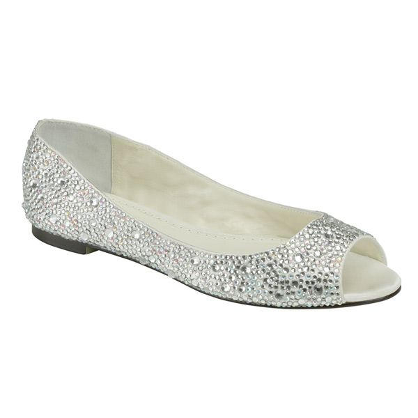 Great Wedding Shoes Flats | The Halle Wedding Shoes By Benjamin Adams Are An  Elegant Flat Wedding Design