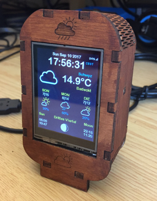 "After the ""WiFi OLED Mini Weather Station with ESP8266"", here is"