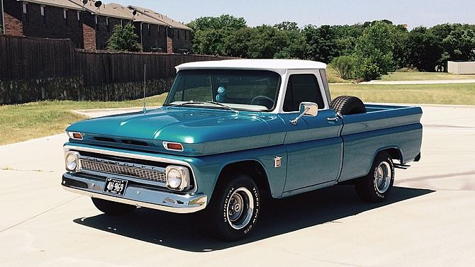 1964 Chevrolet C10 Pickup 350 Ci Automatic Mecum Auctions Classic Trucks Pickup Truck Accessories Chevrolet