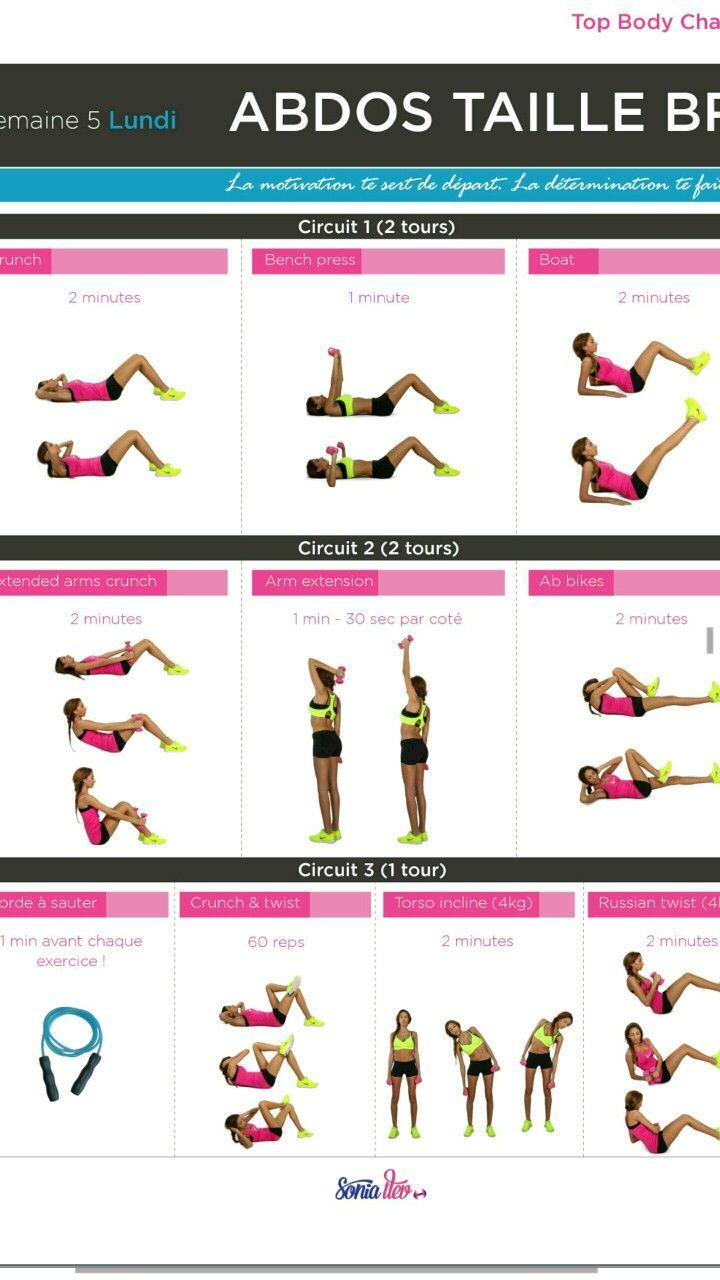 entrainement musculation femme