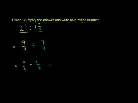 2 Learn Dividing Mixed Numbers Mixed Number Multiplication And