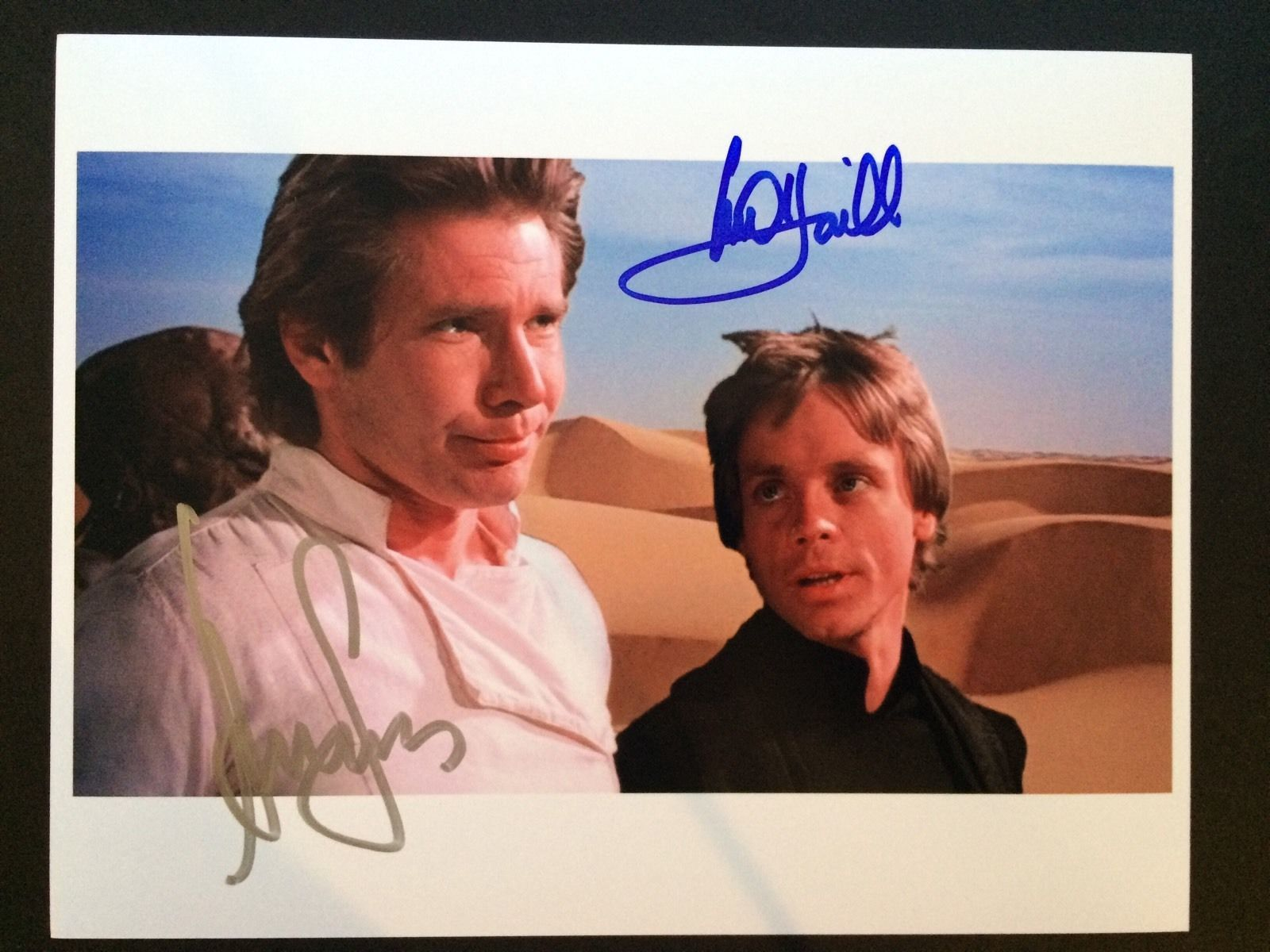 Harrison Ford, Mark Hamill, STAR WARS, Photo 8 x 10