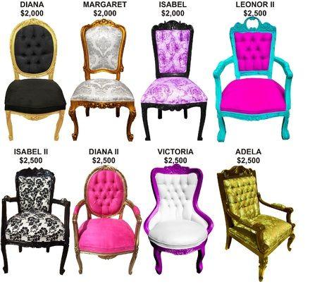 Clases de sillas vintage deco dormitorios pinterest sillas vintage sillas y sillas antiguas - Sillas estilo vintage ...