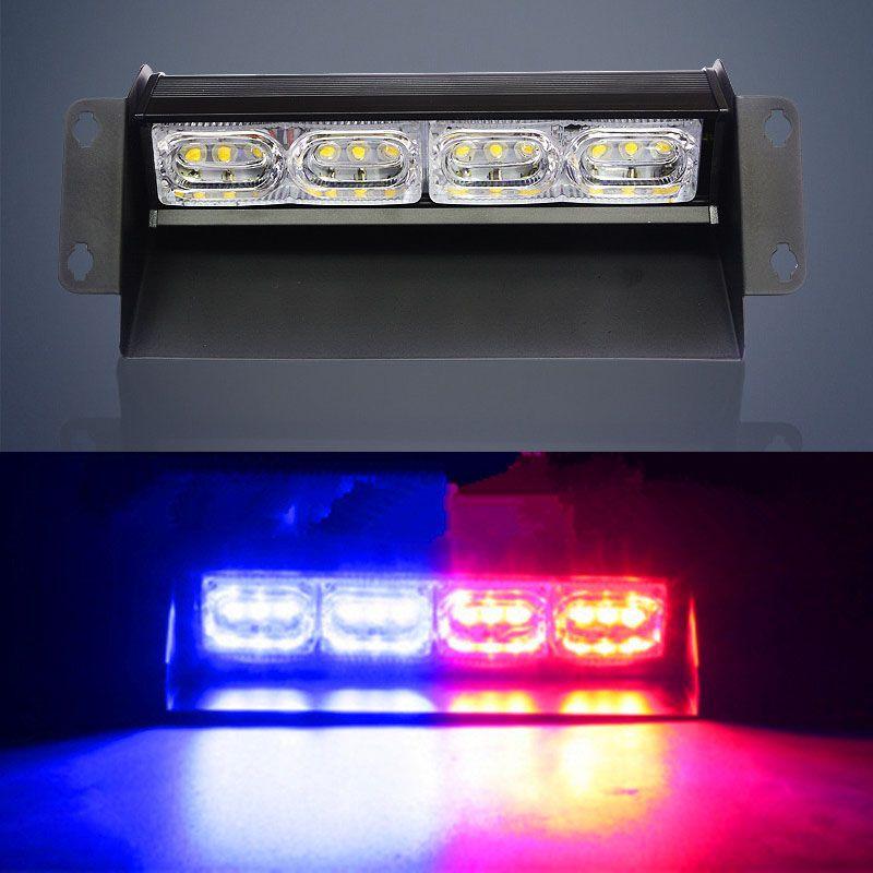 12 LED Car High Power LED Strobe Light Police Lights LED Warning