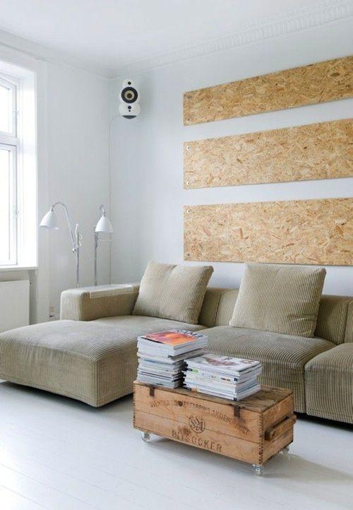 Osb Platten Wand osb platten innenausbau wand minimal loft spaces