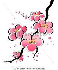 Sakura Gemalt Google Suche Blumenzeichnung Chinesische