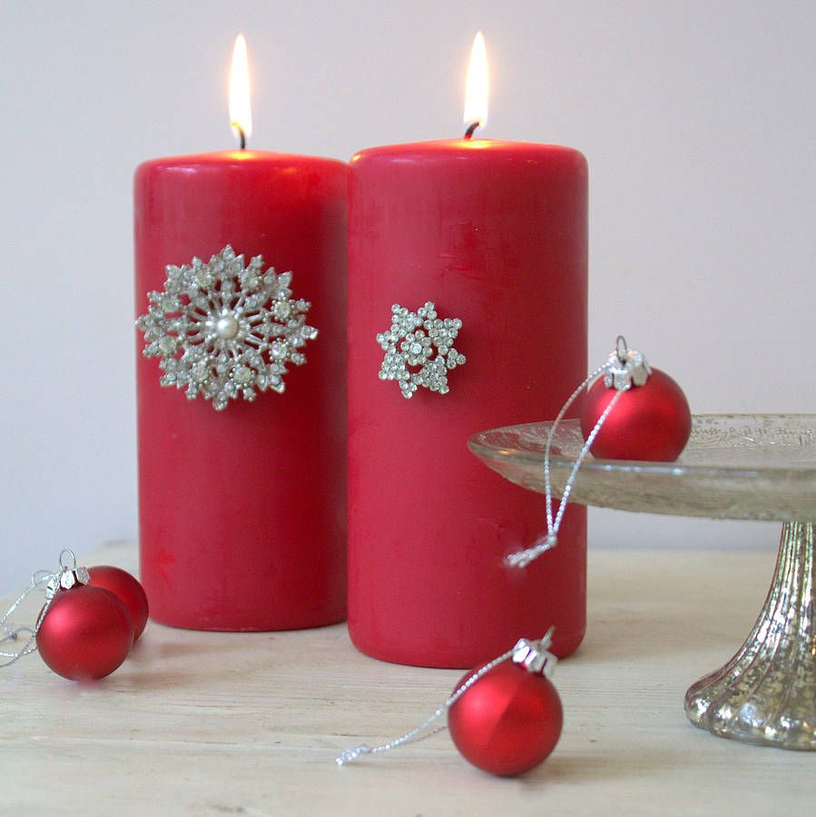 extraordinary candles to lighten your house for the festive season - Candle Decorations