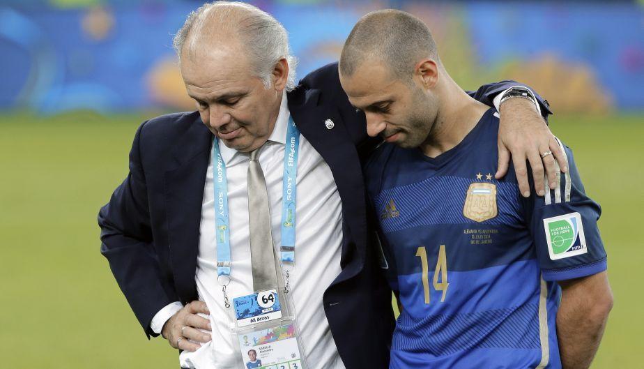 Alejandro Sabella (Argentina) quedó segundo en el Mundial, pero decidió no seguir en el equipo.