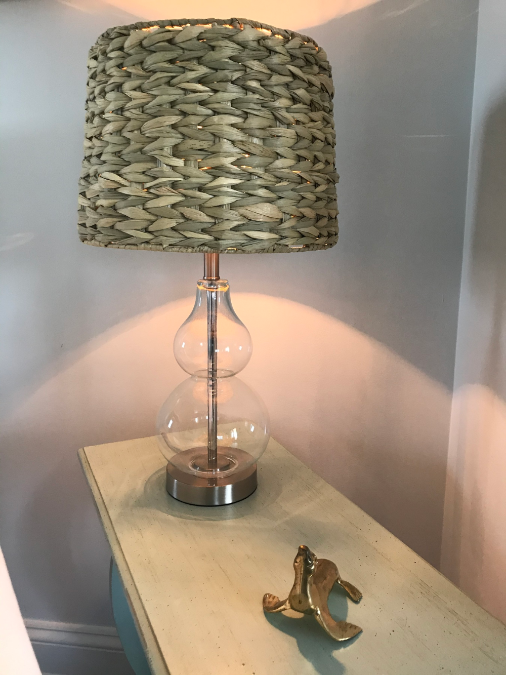 Woven Seagrass Drum Shade 10x12x8.25 (Spider) - #U0943   Lamps Plus