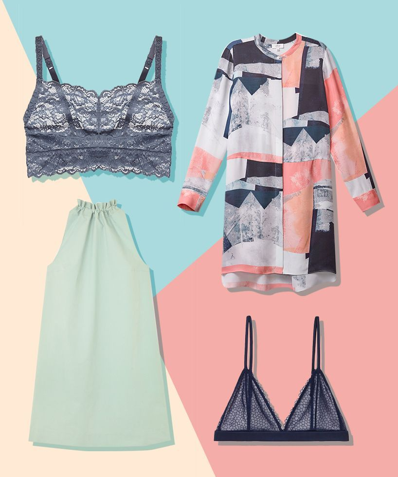 The Best Bra & Dress Pairings You\'ll Want To Show Off | Pretty bras ...