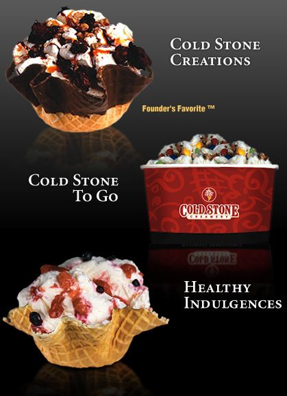 Coldstone Ice Cream Sorbet Shaved Chocolate