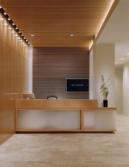 100 modern reception desks design inspiration wood - 10 interesting facts about interior design ...
