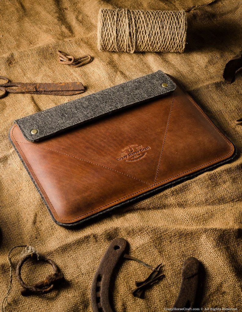 Leather iPad Pro/Air Case and Stand Classic Brown