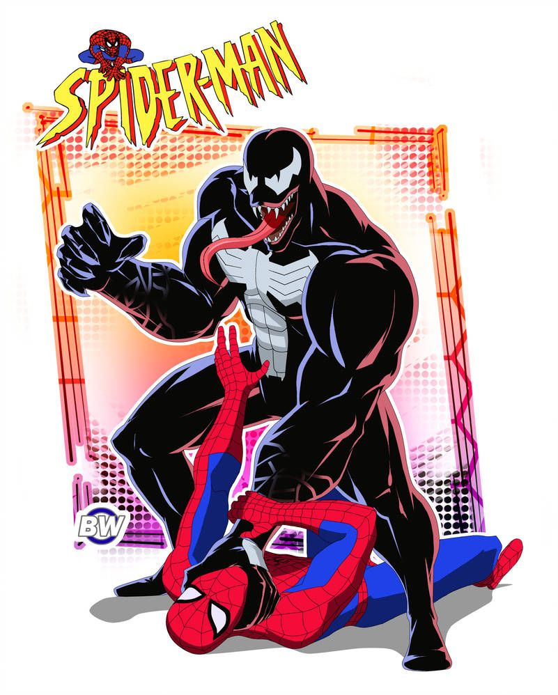 Spider Man The Animated Series 1994 By Browin Di Spectacular Spider Man Marvel Spiderman Spider Man Animated Series