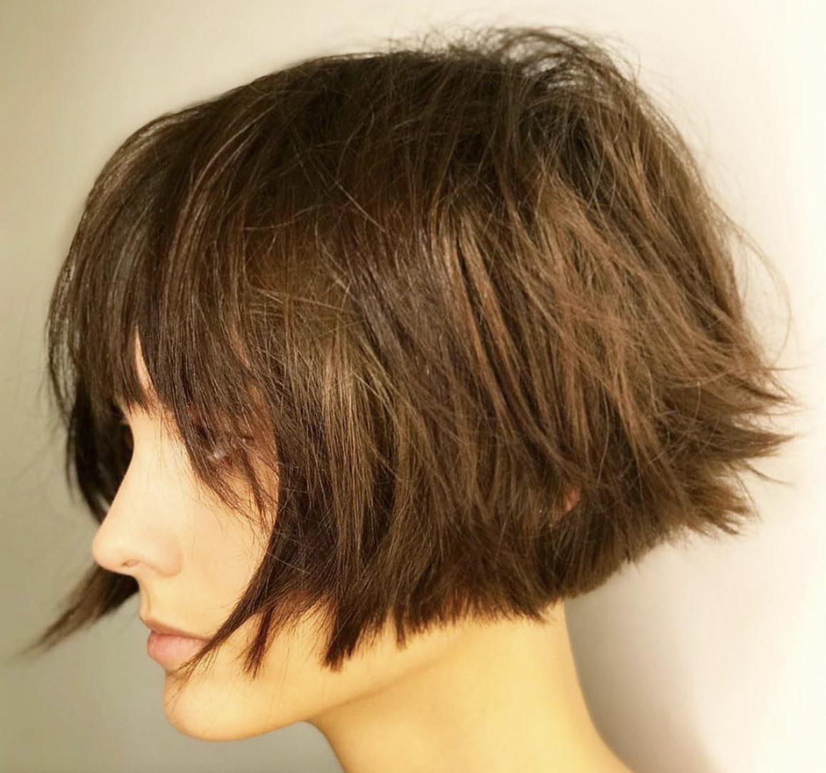 Short Bob 10 - Französische Frisuren für feines Haar