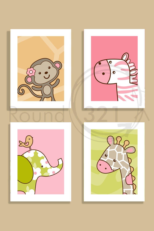 4 8.5 X 11 Jungle Jill Prints - Custom Prints - Unframed - Set of ...