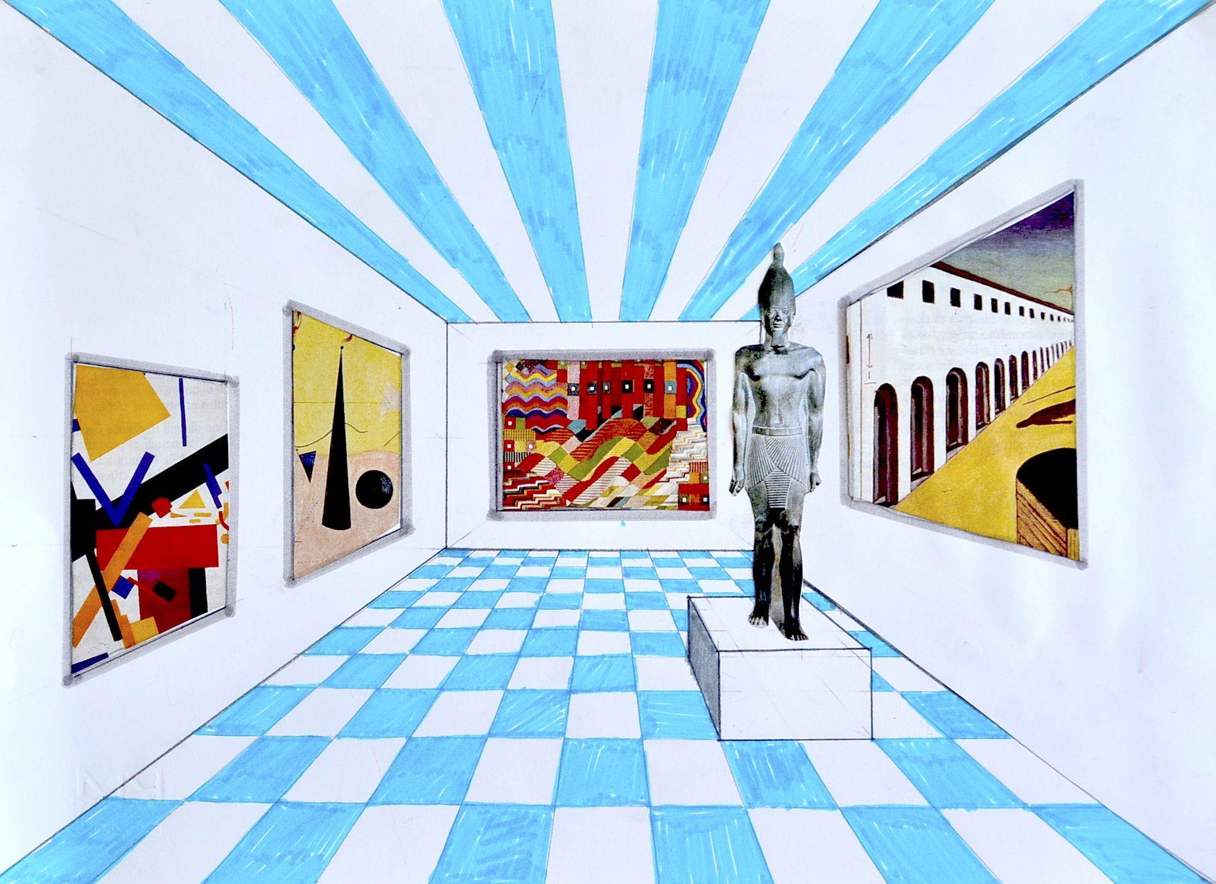 Рисунок о музее