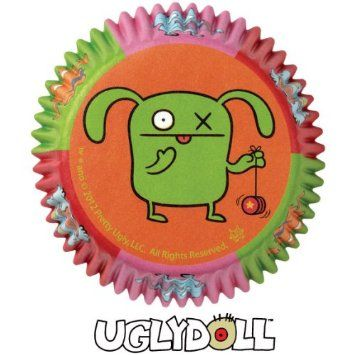Amazon.com: Wilton 50 Uglydoll Baking cups 2 Inch Diameter: Kitchen & Dining
