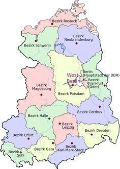 DDR Verwaltungsbezirke farbig.svg #sciencehistory