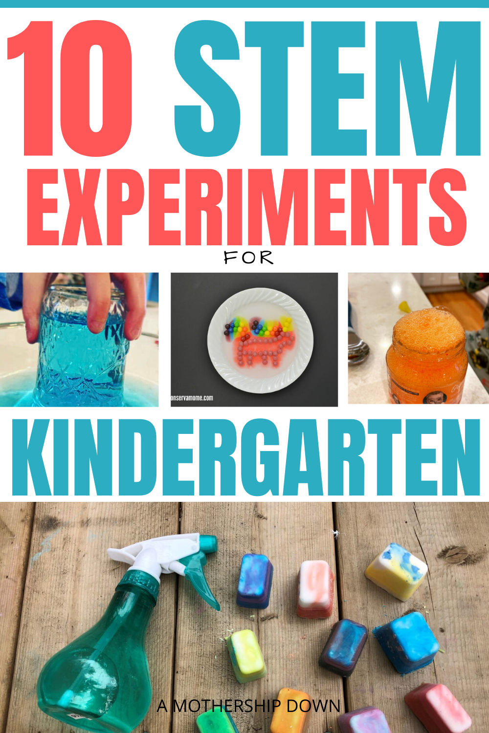 Quick and Easy STEM Experiments for Kindergarten Kids