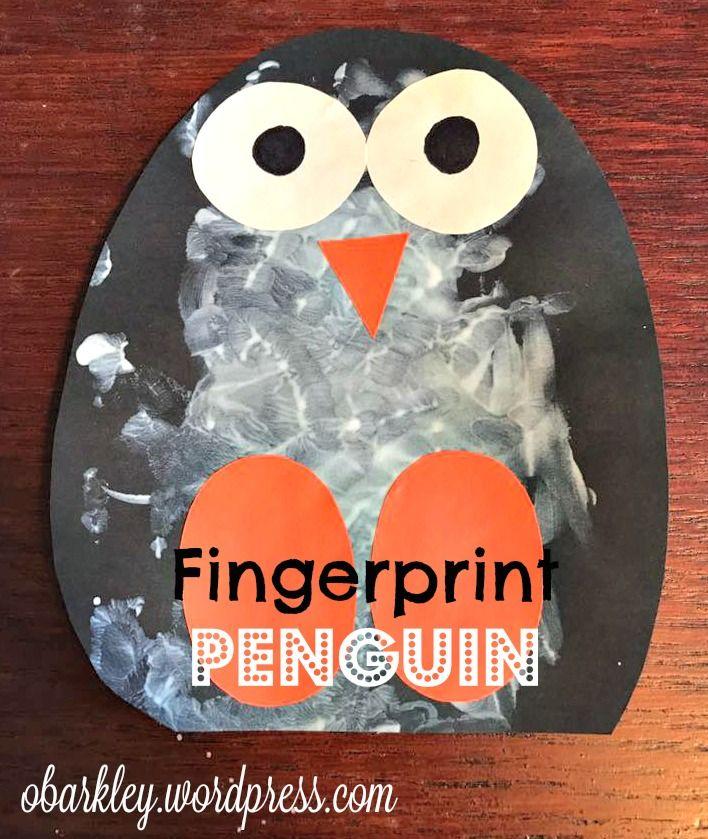 Fingerprint  Penguin #penguincraft
