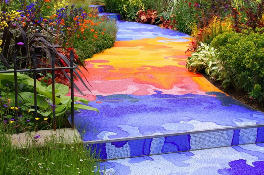 Mosaic Ideas For The Garden 15 clever and inexpensive ways to brighten up your garden rainbows 15 clever and inexpensive ways to brighten up your garden workwithnaturefo