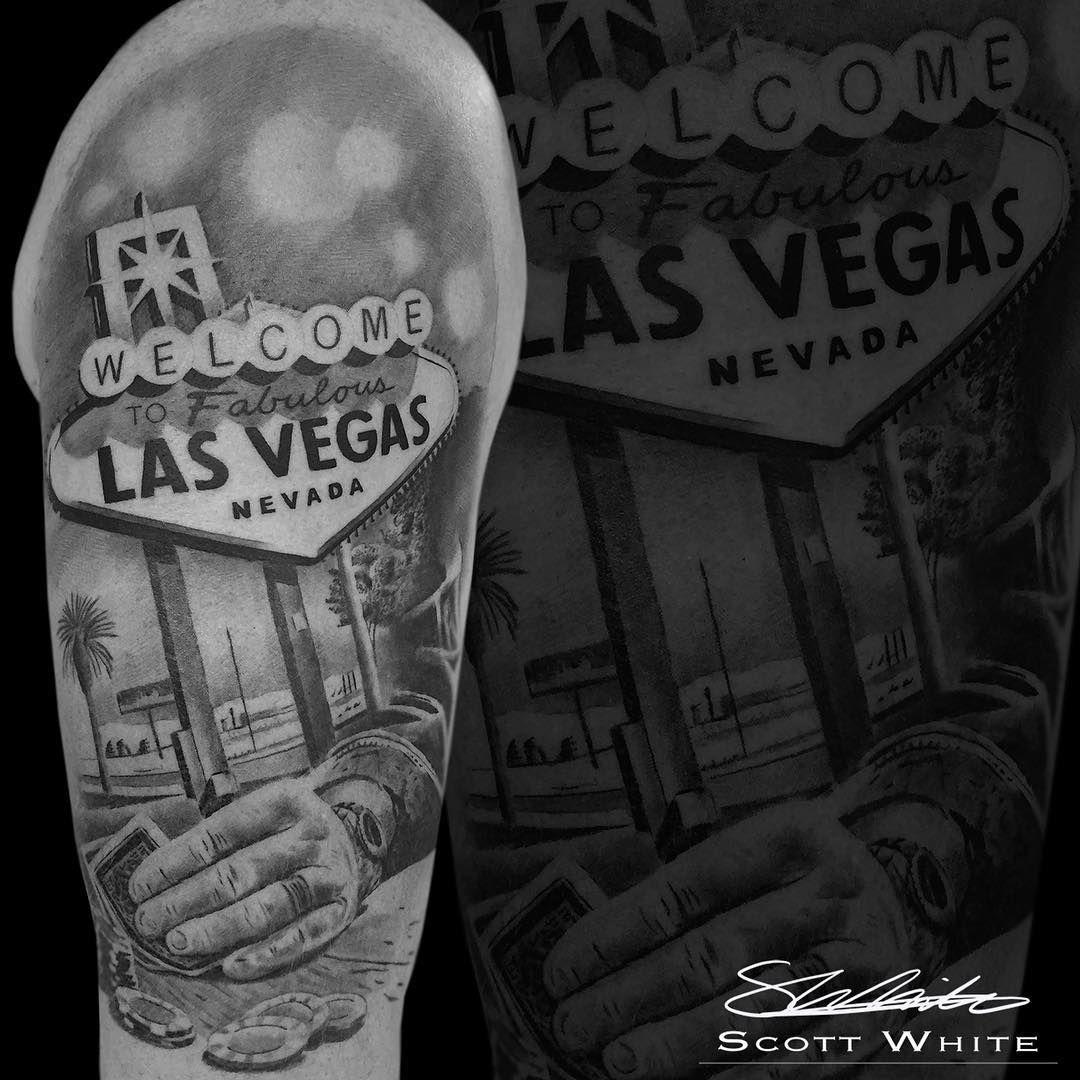 Scott White Black Grey Tattoo Artist At Monument Ink Black And Grey Tattoos Tattoo Artists Vegas Tattoo