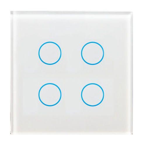 Tast Schalter 4 Fach Modern Led Anzeige Tech Vitrum Steckdosen Und Lichtschalter Lichtschalter Schalter