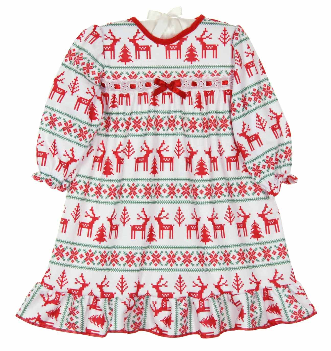 NEW Fair Isle Print Nightgown for Babies 1f6c76759