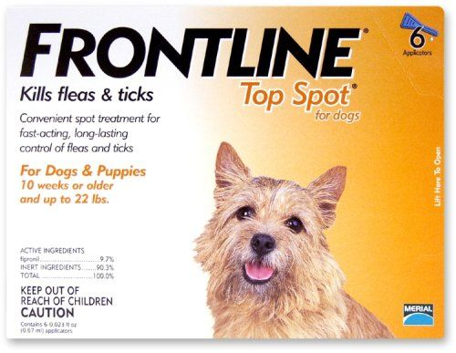 95 17 100 00 Flea Tick Spot On Frontline For Dogs Fleas Ticks On Dogs