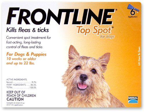 95 17 100 00 Flea Tick Spot On Frontline For Dogs Fleas Ticks On Dogs