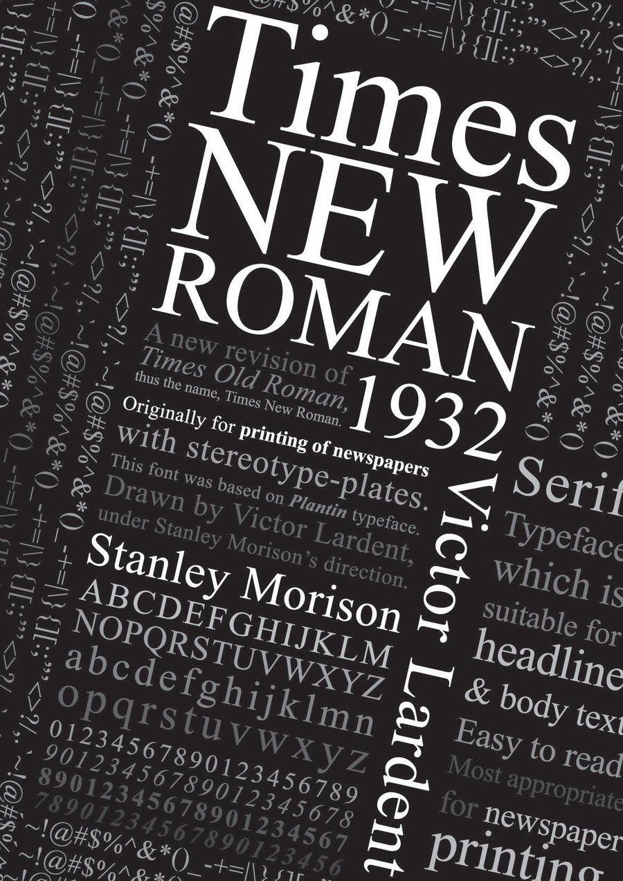 Times New Roman poster by AppleTan.deviantart.com on @DeviantArt ...