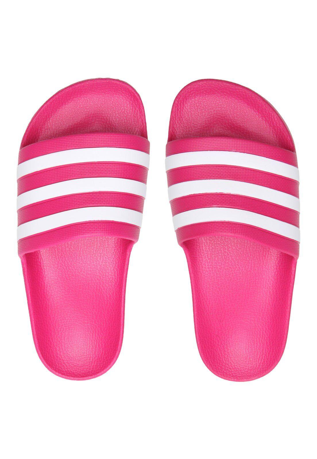 chinelo adidas rosa mercado livre