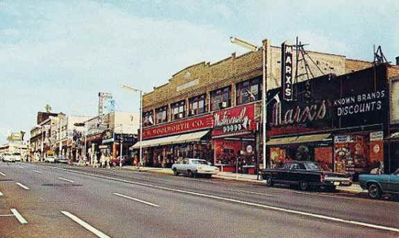 Does Anyone Remember Woolworth S Woolworth S Is The Vintage Version Of Target Irvington In The 90s And Prior Irvington Street View City